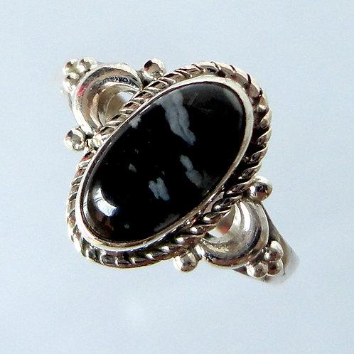 2142 Black Stone Ring