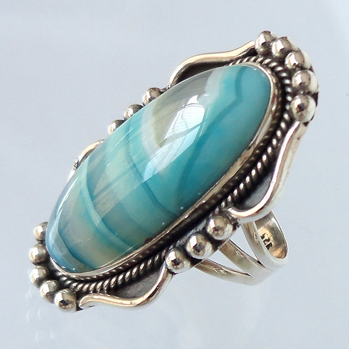 2009 Agate Silver Ring