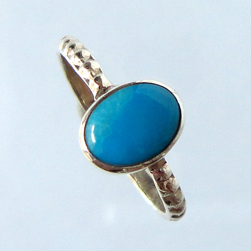 2145 December Birthstone Turquoise Ring