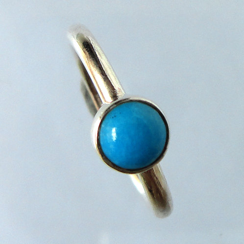 2157 Blue Natural Turquoise Ring