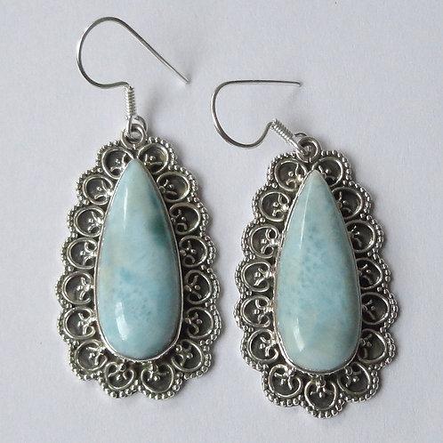 sterling silver ethnic gemstone earring jewelry
