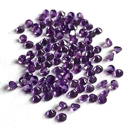 Amethyst Cut Gemstone