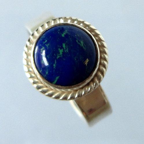2159 Lapis Lazuli Blue Small Ring