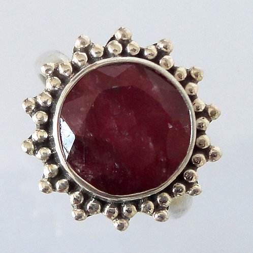 2105 Indian Ruby Ring