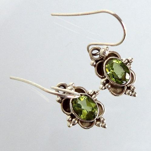 1058 Gemstone Earrings