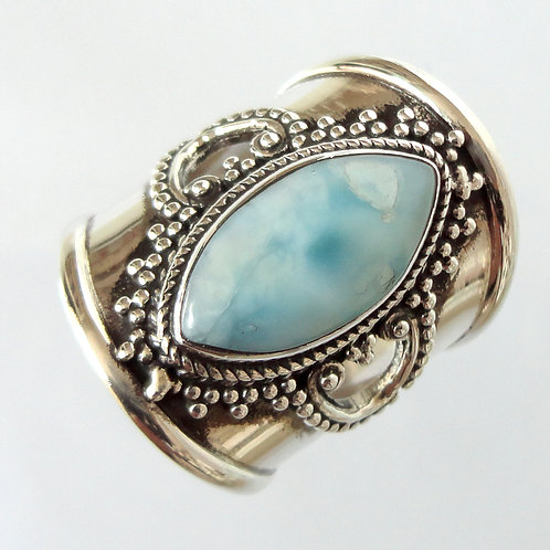 2065 Bohemian Larimar Ring