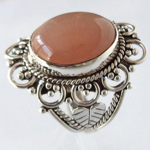 2041 Filigree 925 Silver Ring