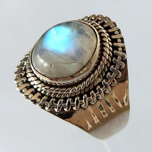 2076 Handmade Silver Ring