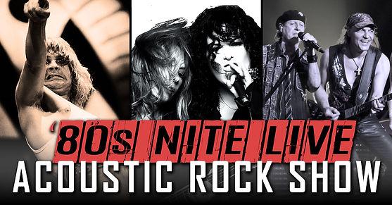 80s Nite Live Acoustic Rock Show Apr. 23