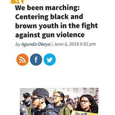 CCC OpEd: We been marching: Centering black and brown youth in the fight against gun violence