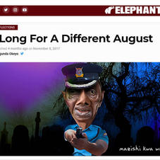 The Elephant Essay: I Long For A Different August