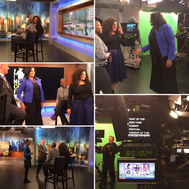 "PIX11 in NYC Interview: ""Sisters of Comedy"" at the New York Comedy Festival"