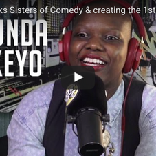 Ebro in the Morning Interview: Agunda Okeyo talks Sisters of Comedy & creating the 1st Trump protest group!
