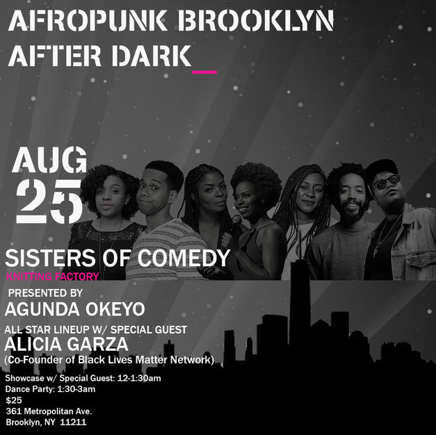 Sisters of Comedy at Afropunk Festival