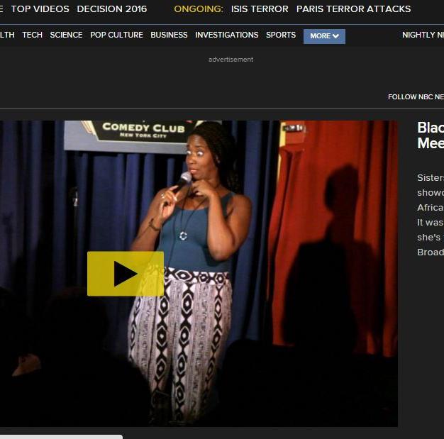 NBC Video: Black Women Telling Jokes