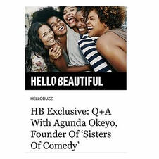 HB Exclusive: Q+A With Agunda Okeyo, Founder Of 'Sisters Of Comedy'