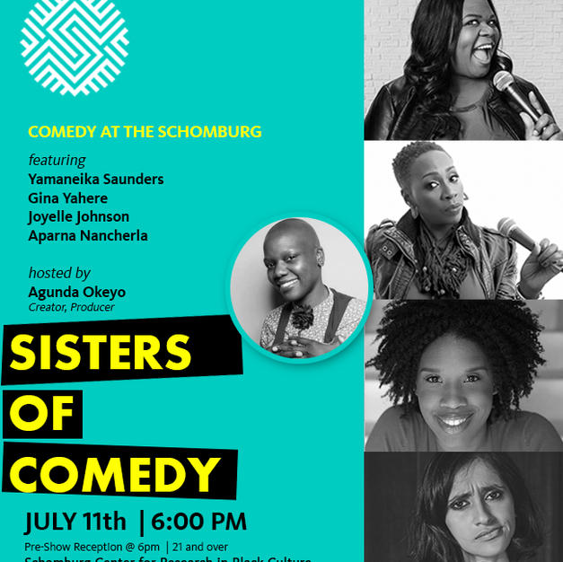 Sisters of Comedy at The Schomburg