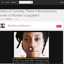 BWB Blog Talk Radio Interview: Sisters of Comedy: There Is Revolutionary Power in Women's Laughter!