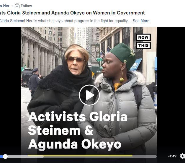Now This Interview: Activists Gloria Steinem and Agunda Okeyo on Women in Government