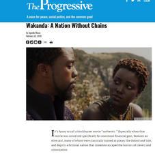 The Progressive OpEd: Wakanda: A Nation Without Chains