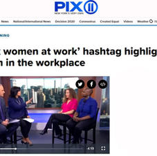 PIX11 in NYC Panel Interview: 'Black women at work' hashtag highlights racism in the workplace