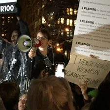 Complex Mag: WOC Lead Post-Election Protest in NY