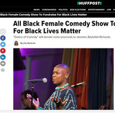 Huffpo: Comedy Show to Fundraise for BLM