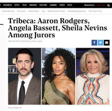 THR: 2019 Tribeca Jurors: Aaron Rodgers, Angela Bassett, Sheila Nevins Among Jurors ft. producer Agunda Okeyo