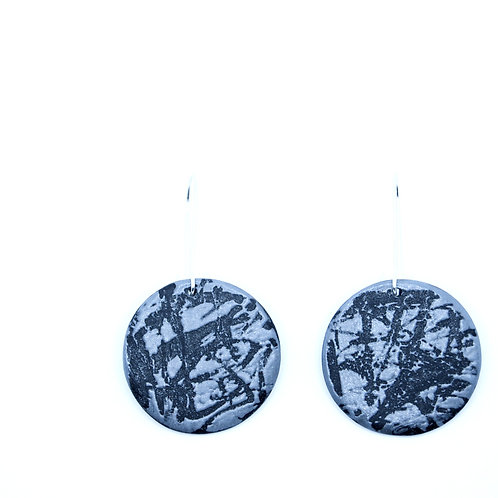 Round energy earrings