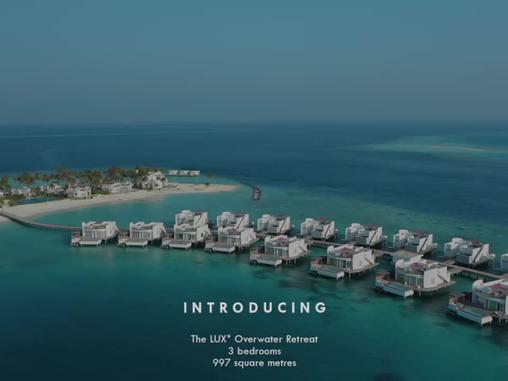 Un nouveau paradis qui repousse les frontières du luxe, aux Maldives