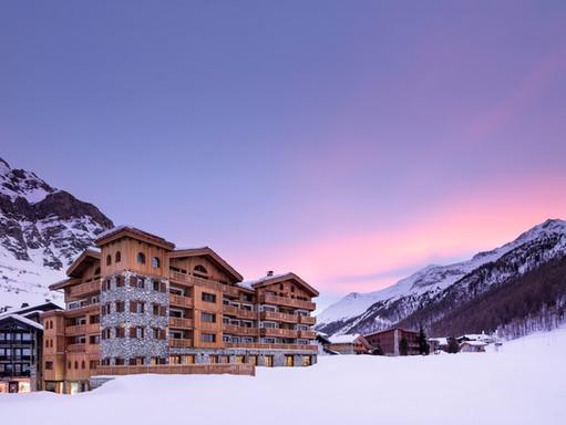 Au royaume des neiges à Val d'Isère Les Airelles Mademoiselle