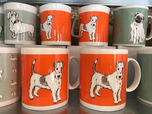 Fanny Terrier china mug