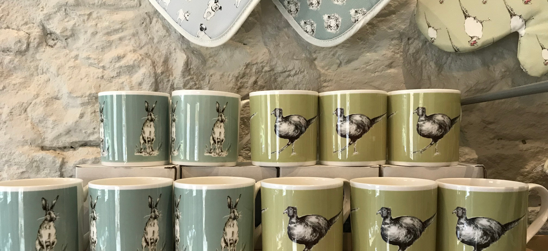 China and kitchen textiles