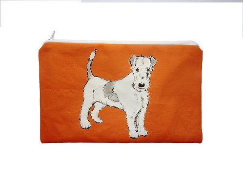 Fanny Terrier cosmetic bag