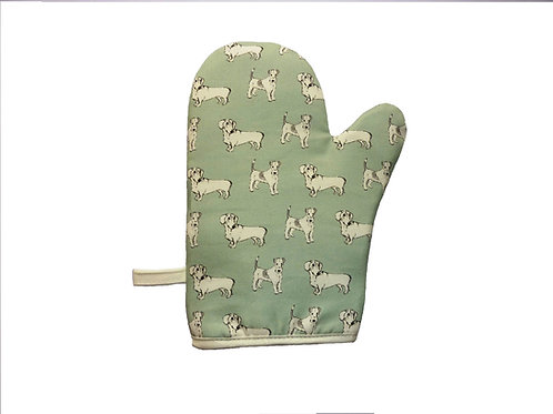Sausages & Fanny oven Mitt