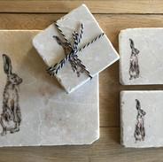 Harry hare stone coaster