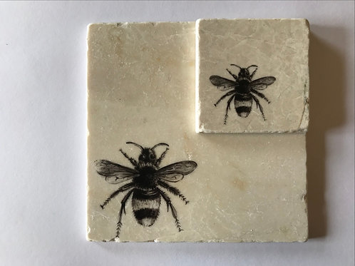 Buzz stone coasters and pot stands