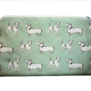 Sausages and Fanny cosmetic bag