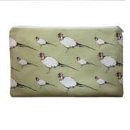 Pip Pheasant cosmetic bag