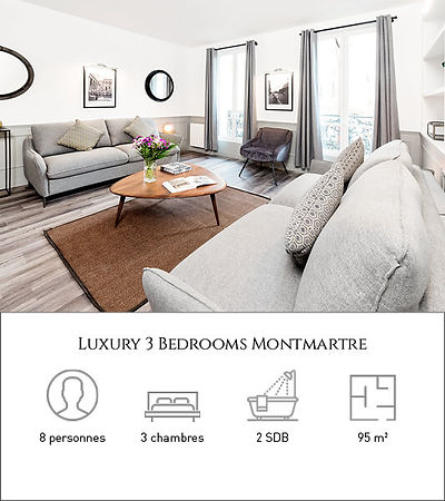 Livinparis-Luxury 3 Bedrooms-Montmartre.