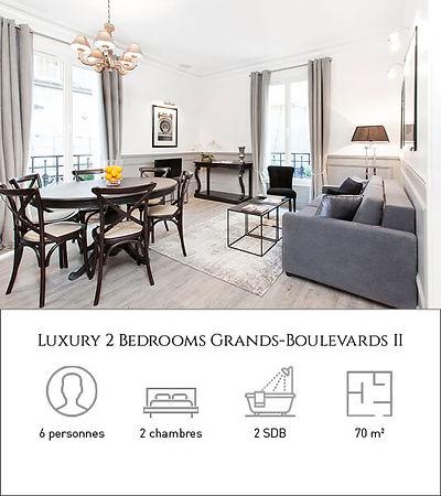 Livinparis-Luxury 2 Bedrooms-Grands-Boul