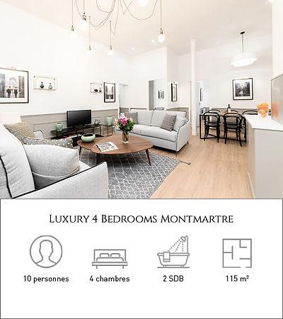 Livinparis-Luxury 4 Bedrooms-Montmartre.