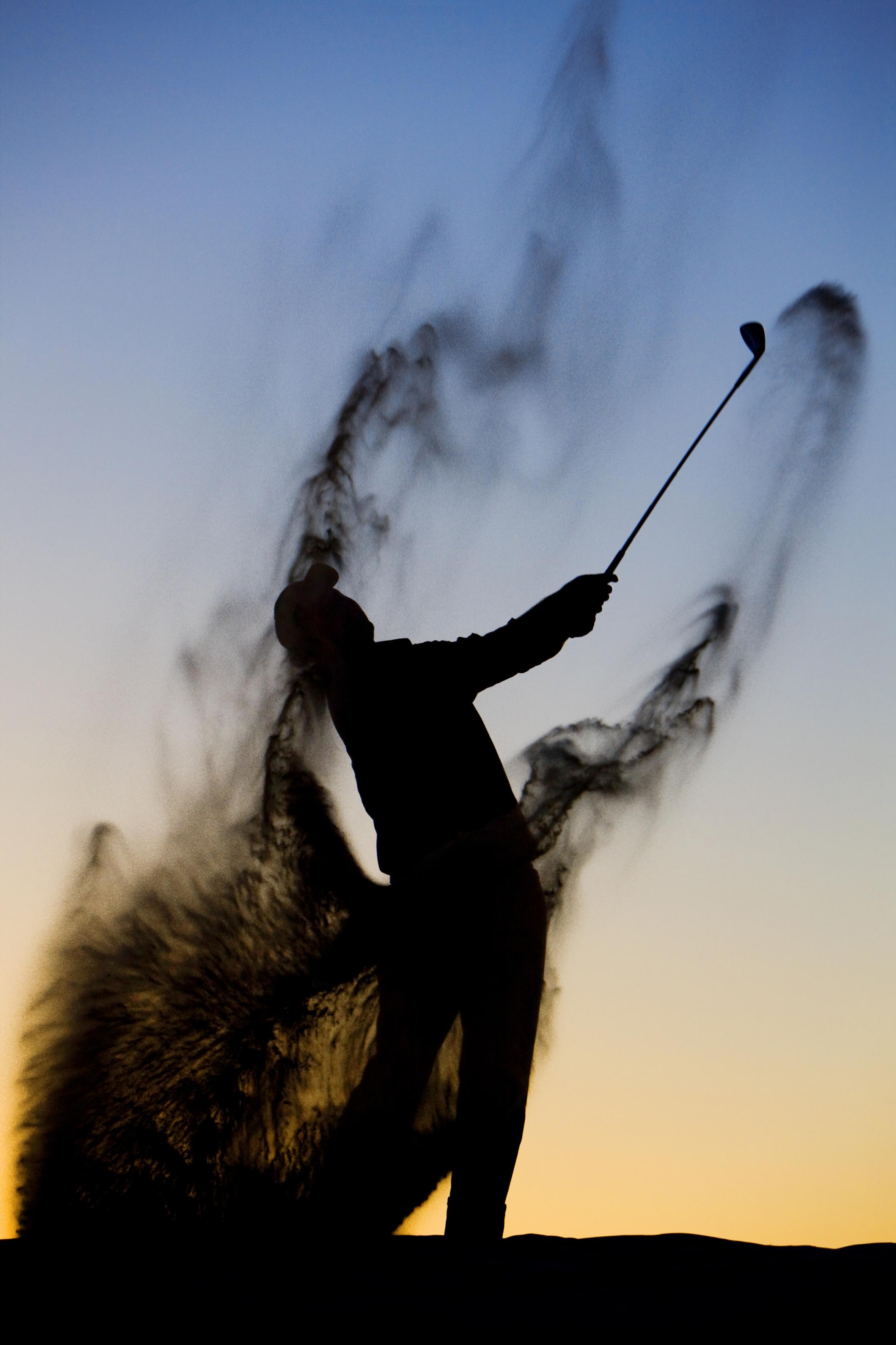 Golf man-rvb