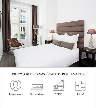 Livinparis-Luxury 3 Bedrooms-Grands Boul