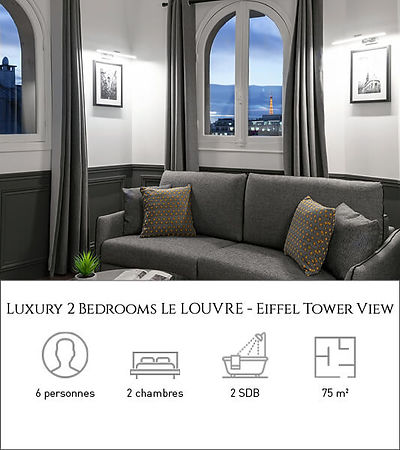 Livinparis-Luxury 2 Bedrooms-Le Louvre-E