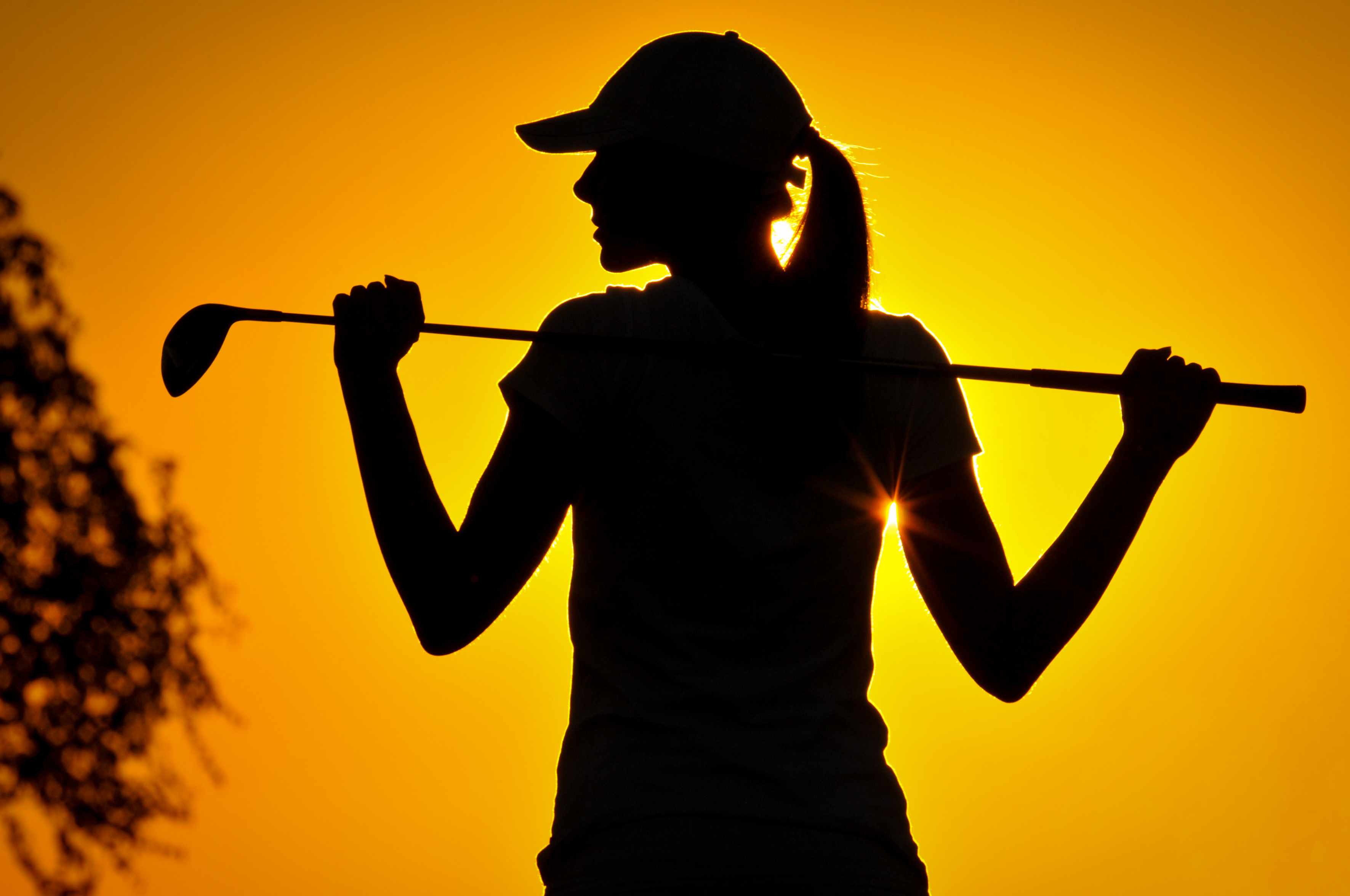 Golf woman-rvb