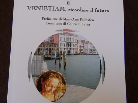 LA MAGIA DI VENEZIA CON IL ROMANZO DI SERGIO SANTIANO: SIETE TUTTI INVITATI !!!
