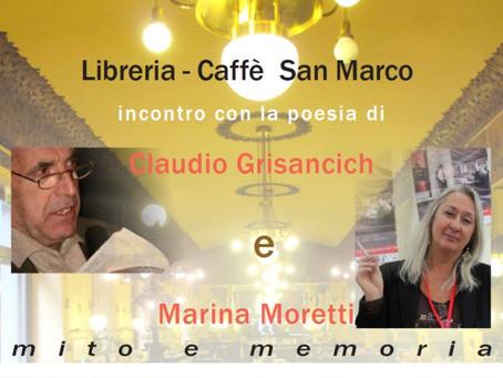 POESIA: MITO E MEMORIA  al Caffè San Marco di Trieste