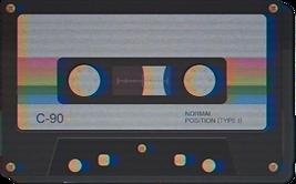 retro casette tape