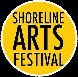 Shoreline Arts Festival Logo-whitestroke